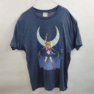 Sailor Moon Mens Shirt Top Size Large new with tag